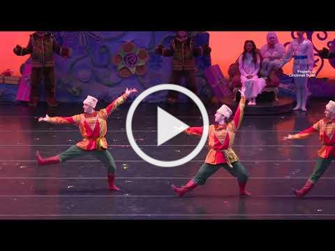 Russian Dance from The Nutcracker presented by Frisch's Big Boy