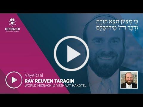 Rabbi Reuven Taragin   Vayeitzei 5780