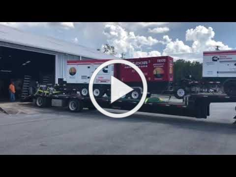 Trucks Loaded for FRWA Emergency Response