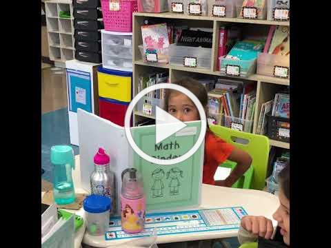 Excellence in DG58: Pierce Downer first graders practice math (Episode 13)
