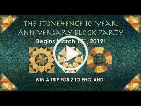 The Stonehenge Block Party & Panel Quilt Challenge 2019