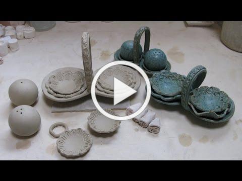 Ceramic Condiment Caddy