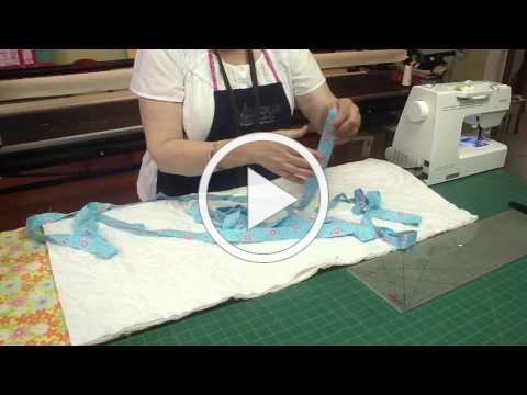 How To Bind a Quilt on a Sewing Machine with Jenny Doan of Missouri Star (Instructional Video)
