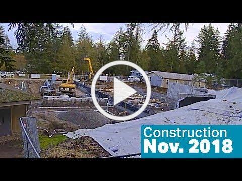 Kitsap Humane Society Construction, Nov. 2018