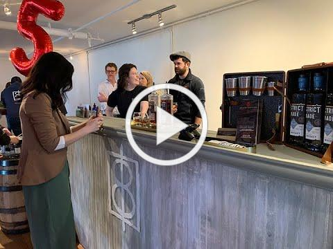 Craft Spirits TV: One Eight Celebrates 5 with 200 750s of a 4-Plus Whiskey