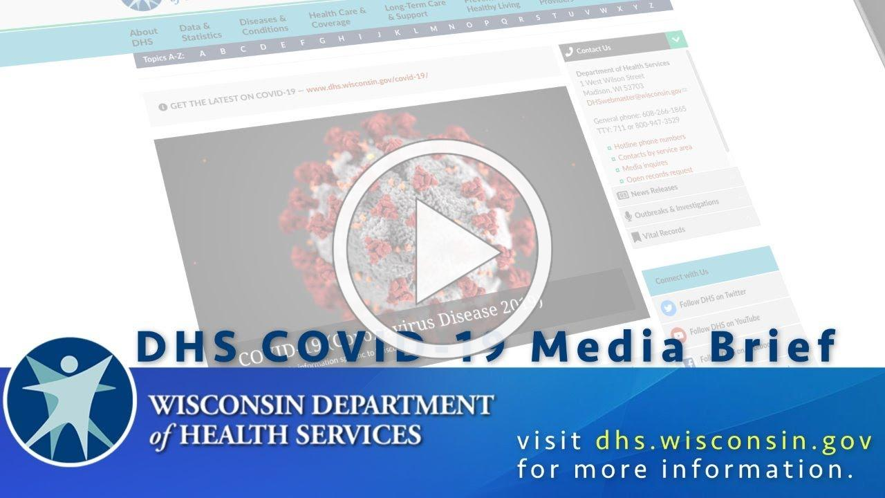 COVID-19 Media Briefing - 3/20/2020