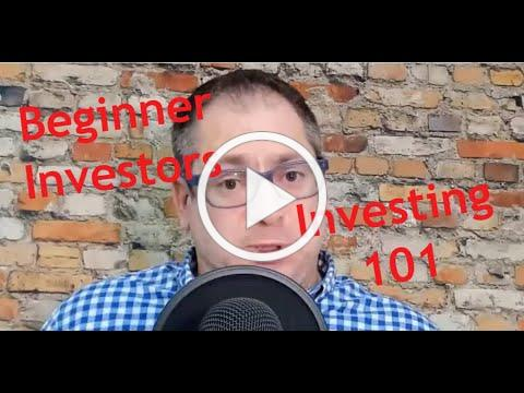 Investing for beginners | A few things you should know - Live stream