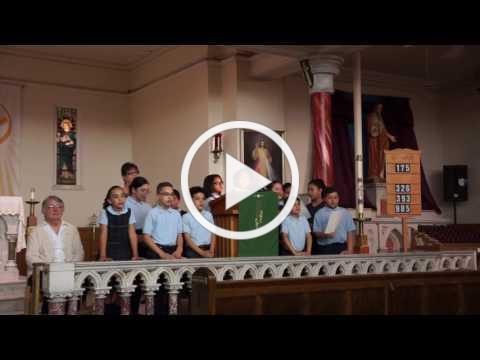 S Dolores Egner SSJ's farewell from Visitation Catholic School in Philadelphia