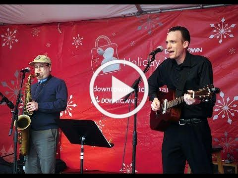 More holiday music!  With Matt Kelley on guitar and vocals.