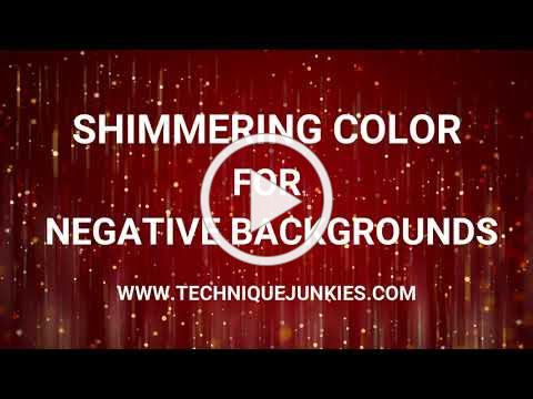 Shimmering Colors for Negative Backgrounds