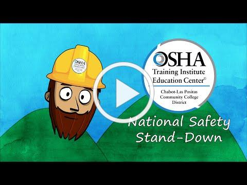 National Safety Stand-Down 2021 with Safety Stu