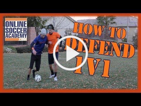 1v1 Defending ~ Learn Basic & Advanced Techniques! + Online Soccer Academy