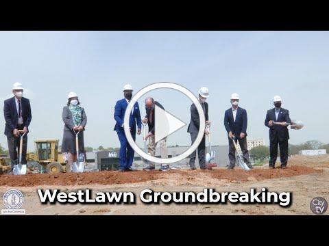 WestLawn Groundbreaking at Bull Street