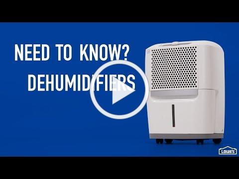 Need to Know - Dehumidifiers