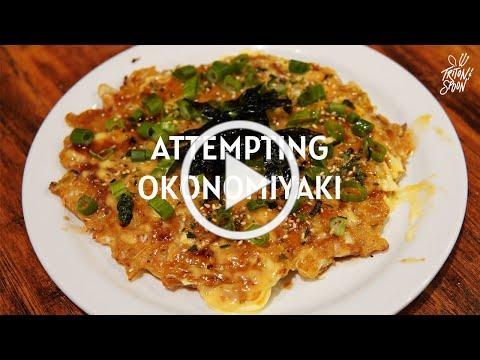 UCSD Student Attempts to Make Okonomiyaki