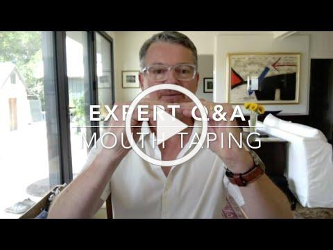 BREATH: Expert Q&A | Mouth Taping