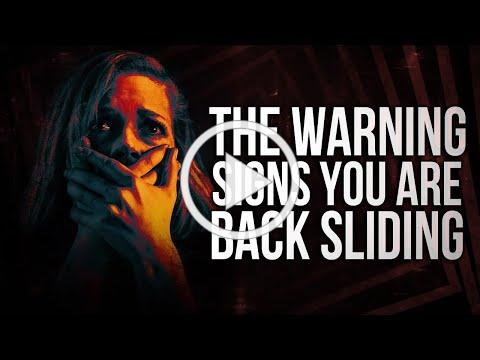 The WARNING Signs You Are Back Backsliding