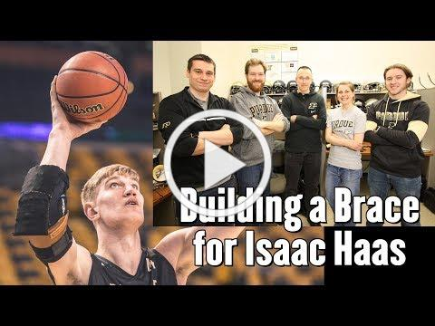 Building an Elbow Brace for Isaac Haas
