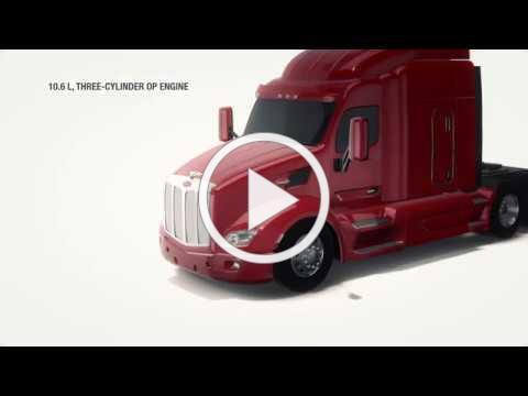 Achates Power Heavy-Duty 10.6L Opposed-Piston Engine