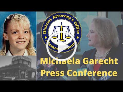 Michaela Garecht Press Conference   Alameda County District Attorney's Office and Hayward PD