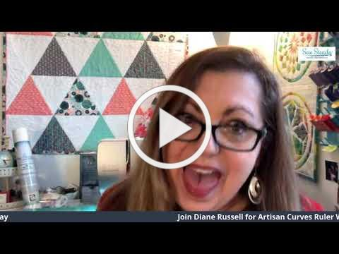 Artisan Curves Ruler Work Event with Diane Russell