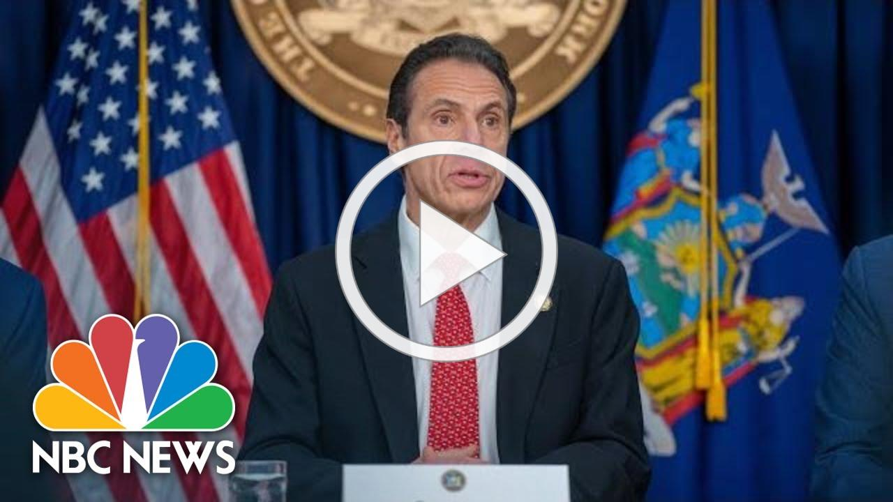 Live: NY Gov. Andrew Cuomo Holds Coronavirus Briefing | NBC News
