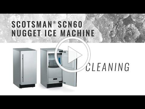 Scotsman SCN60 Nugget Ice Machine - Cleaning
