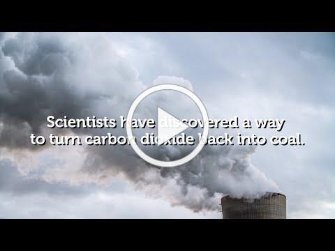 Turning carbon dioxide back into coal | RMIT University