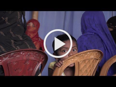 Misson humanitaire et médicale de l'UOSSM à Cox's Bazar, Bangladesh