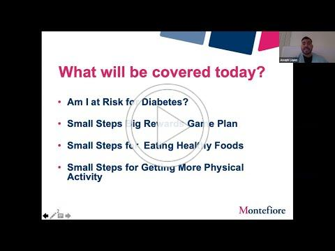 Montefiore: Small Steps, Big Rewards - Diabetes, COVID-19 and Safety at your Dr. Appt. (Eng/Span)