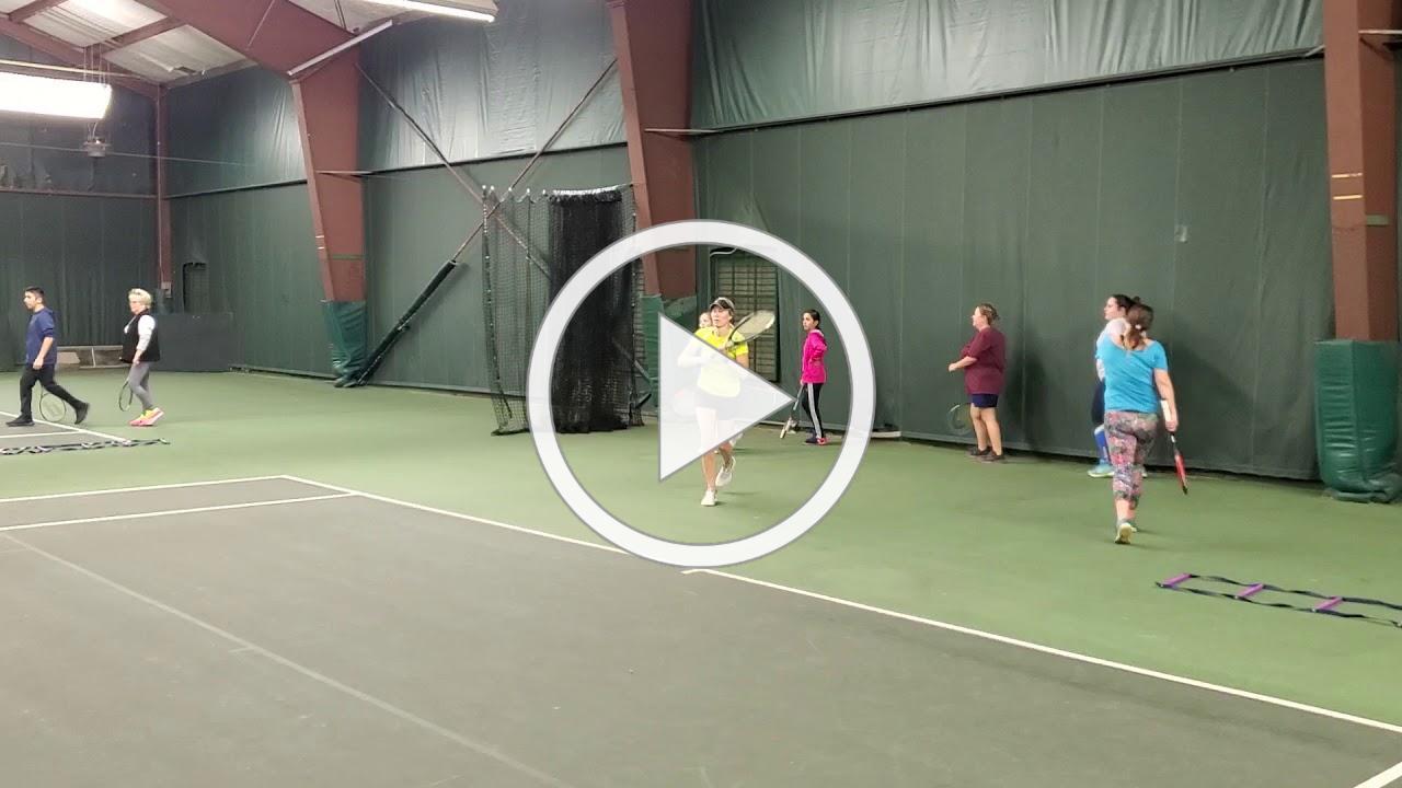 Cardio Tennis at WR YMCA in Mayodan