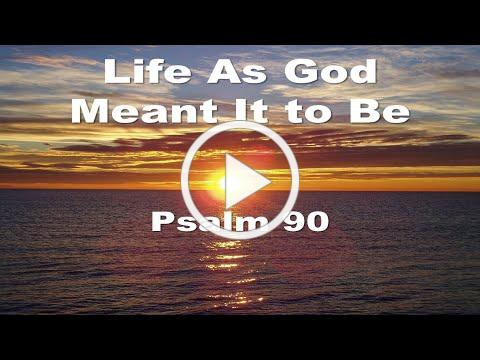 Life As God Meant It To Be