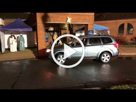 Pender's Drive-Through Nativity