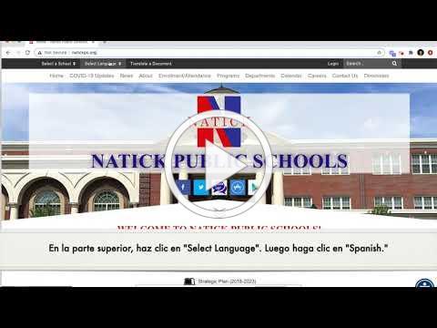 How to Read NPS News in Spanish - Cómo leer las noticias de NPS en español