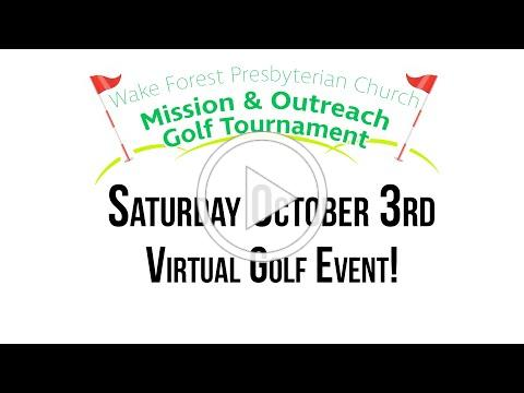Virtual Golf Tournament