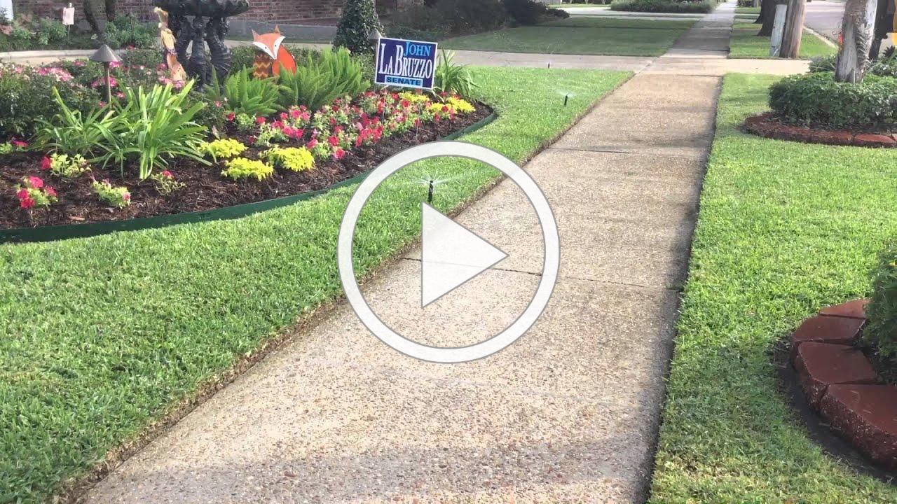 Rainbird water saving sprinkler heads by Clean Cut Landscape