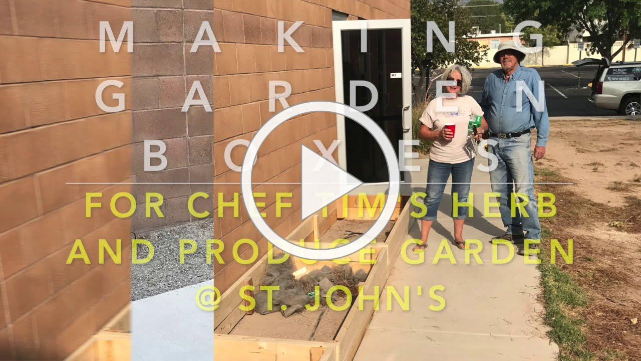 Food Ministry | East Side Herb Garden Boxes Assembly Video