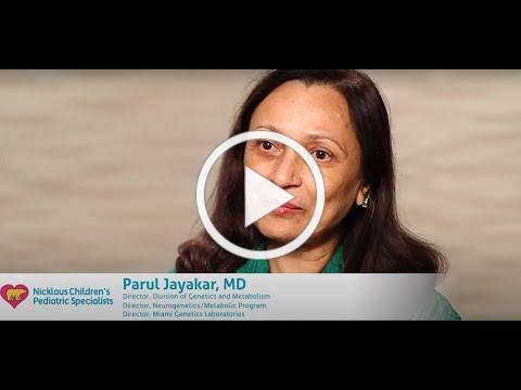 Meet Parul Jayakar, MD - Nicklaus Children's Hospital Clinical Genetics & Metabolism