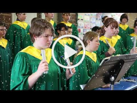 Boise School District Annual Holiday Music Sampler & Message 2018