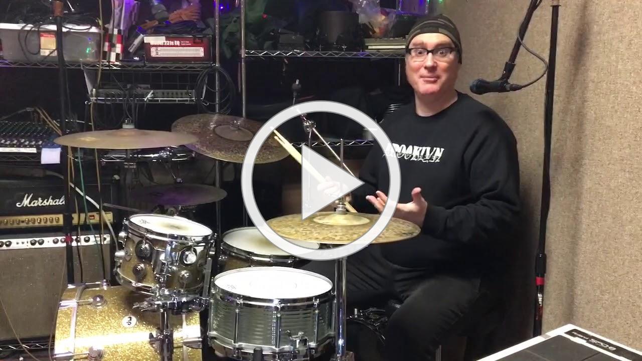 Custom Bent Glass Snare Drum
