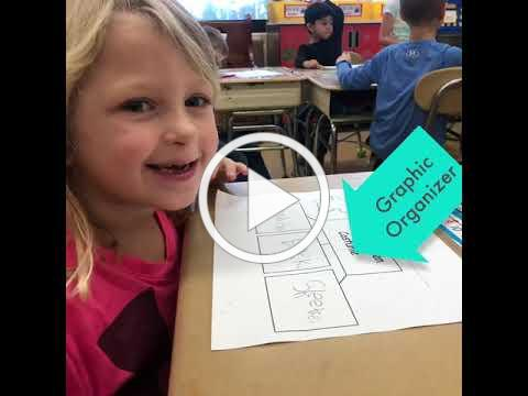 Excellence in DG58: Lester first graders write about Halloween (Episode 7)