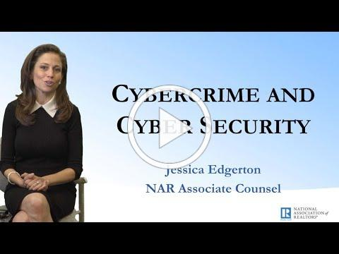 Cyber Crime, Cybersecurity and the Real Estate Professional
