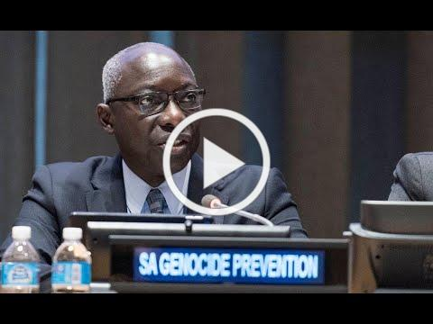 Adama Dieng on the 70th anniversary of the Convention on Genocide