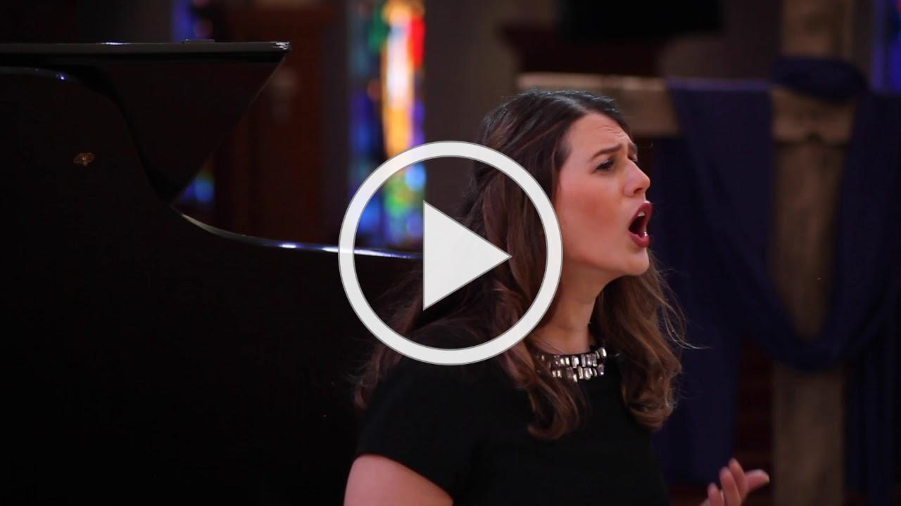 """Stephanie Newman - """"You'll Never Walk Alone"""" by Rodgers & Hammerstein"""