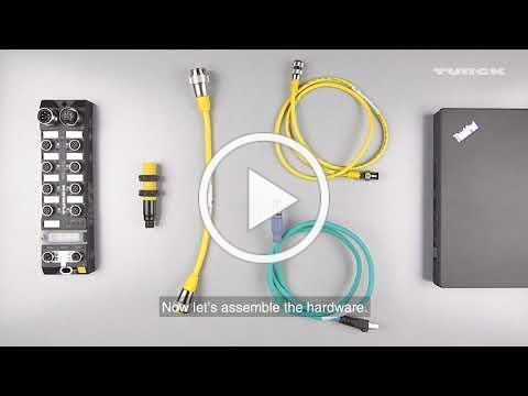 IO-Link Sensor Configuration via TBEN
