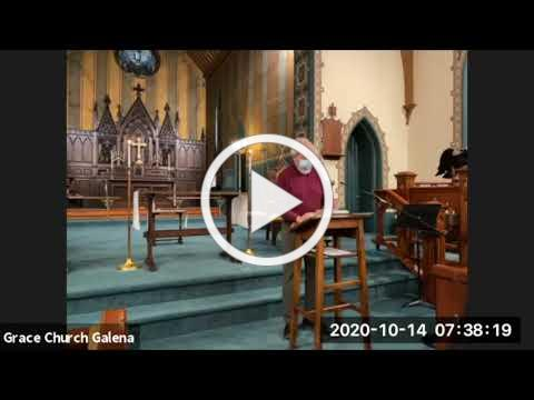 Grace Episcopal Church, Galena IL Morning Prayer