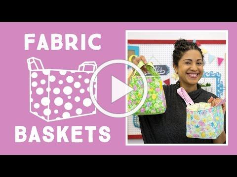 Easy Fabric Baskets