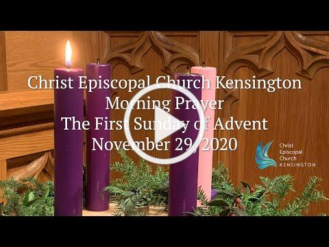 Christ Chruch Morning Prayer November 29