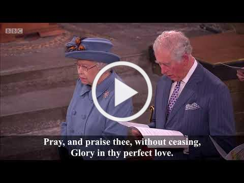 Love Divine, all loves excelling (Blaenwern) (+lyrics) - Westminster Abbey Commonwealth Day 2020