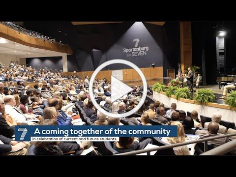 Spartanburg High School Dedication Ceremony and Community Open House Highlights Video